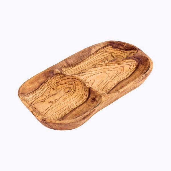 Flat-appetizer-tray-3wells-olive-wood-satix