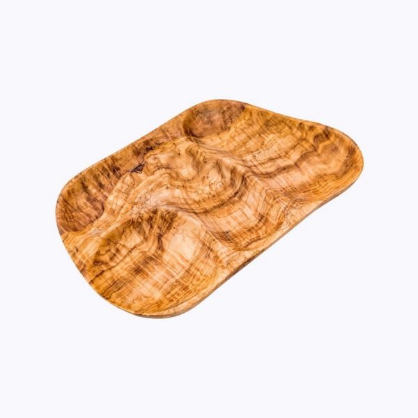 Flat-appetizer-tray-4wells-olive-wood-satix