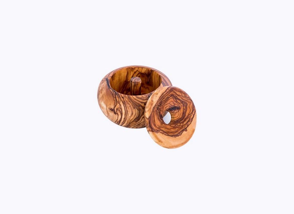 Round-Ashtray-olive-wood-satix