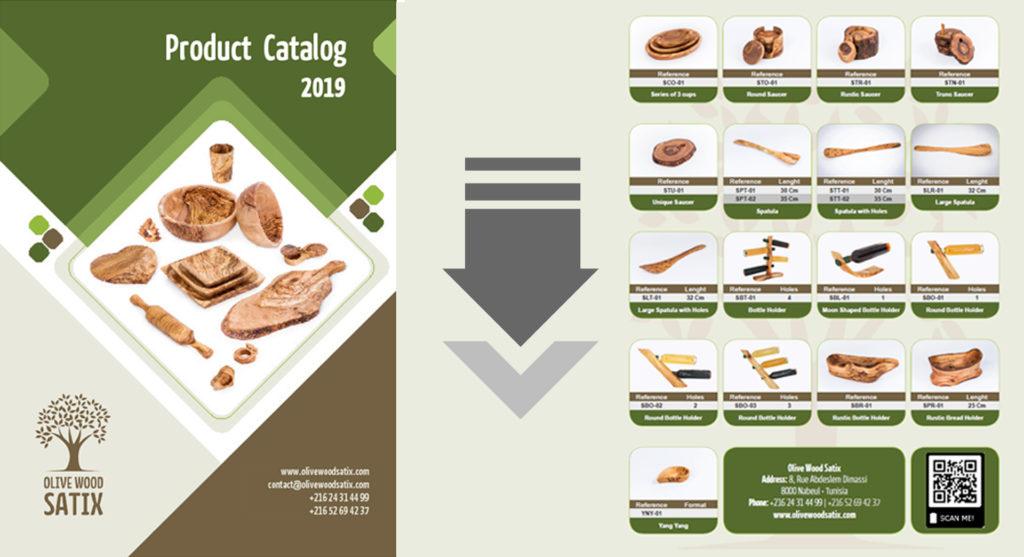 Olive Wood Satix Catalog A5 Preview