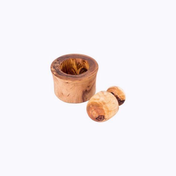 Garlic-Mortar-olive-wood-satix