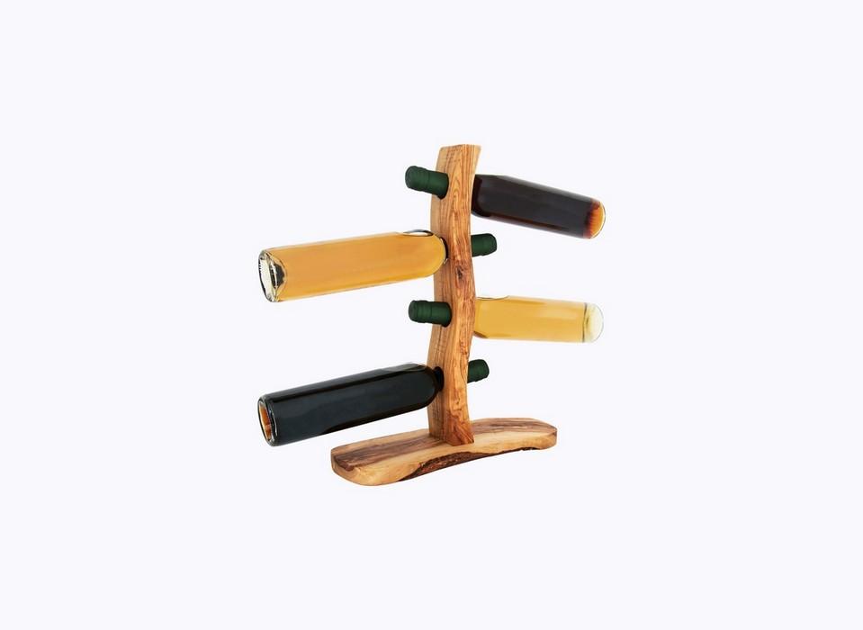 Bottle-Holder-4holes-olive-wood-satix
